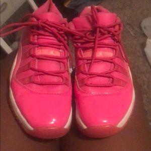 Neon pink Jordan